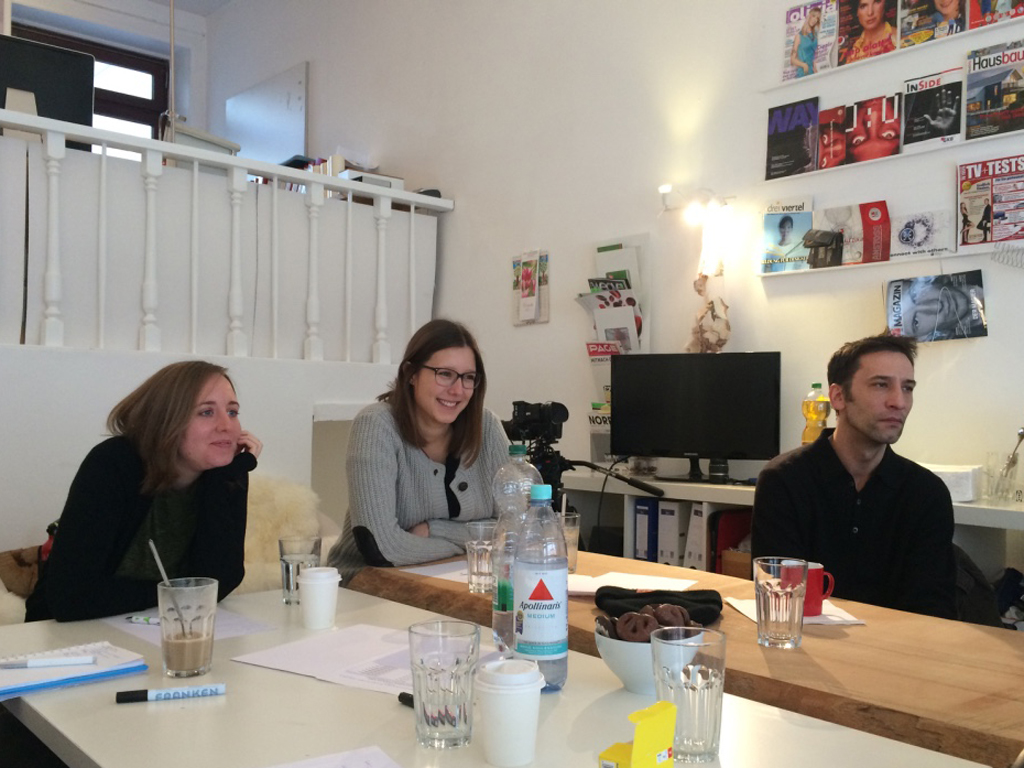 Initiative-Media-Team beim Businessfilm-Workshop