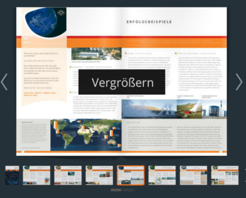 digitale Broschuere