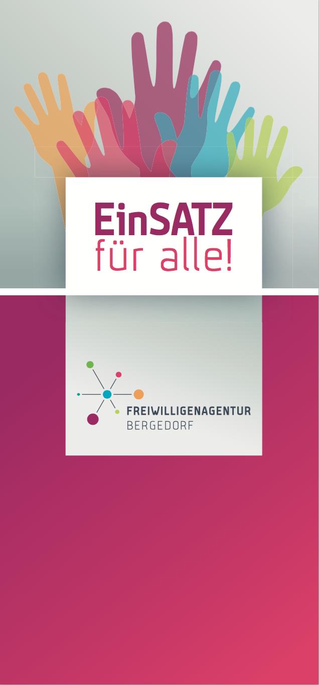 Titel Folder mit Haenden und Logo