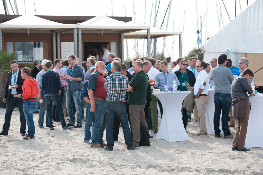 Business-Event in der riff-Strandbar, Niendorf