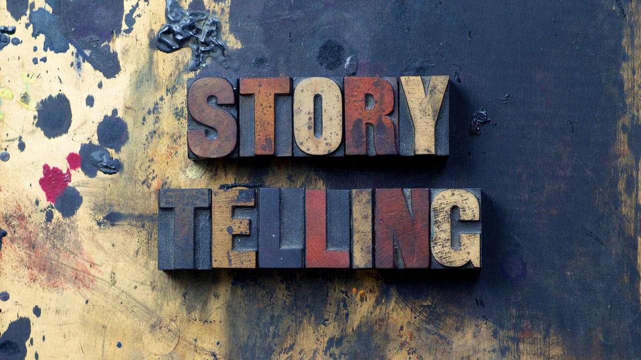 storytelling in lettern