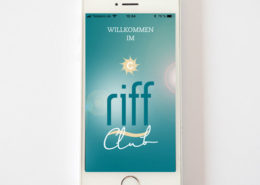 riff-Strandbar app, Titelbild
