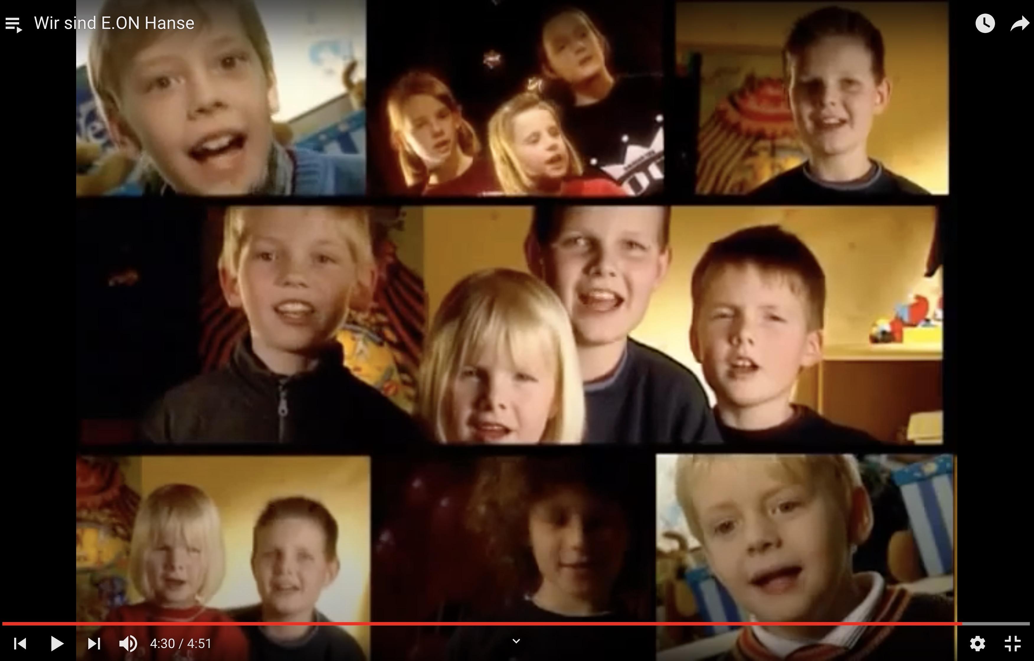 Splitscreen mit Kinderdarstellern E.ON Film